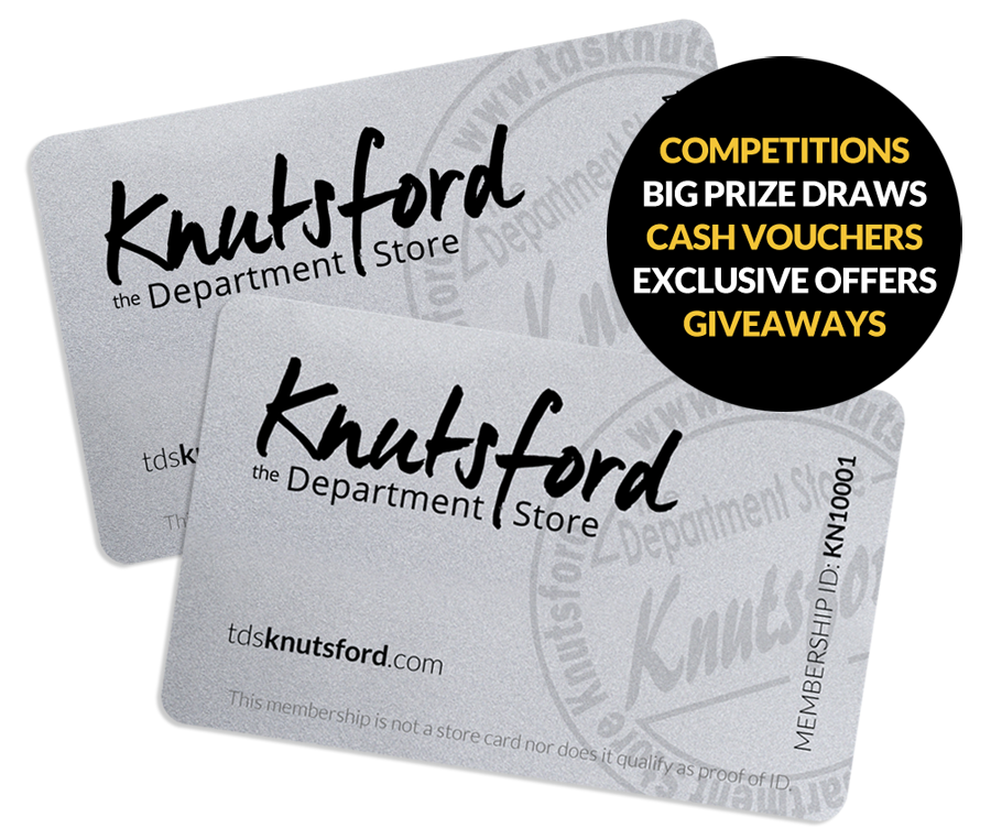 The Department Store Knutsford Membership Card